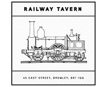 Railway Tavern Logo header